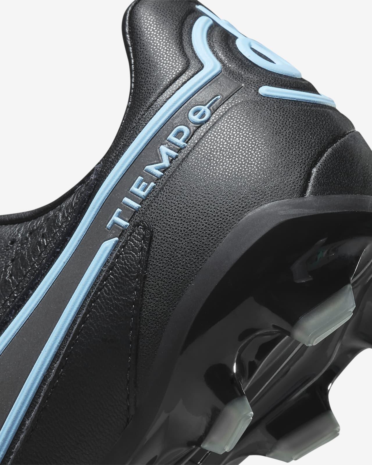 Chaussures de football à crampons pour terrain sec Nike Jr. Tiempo ...