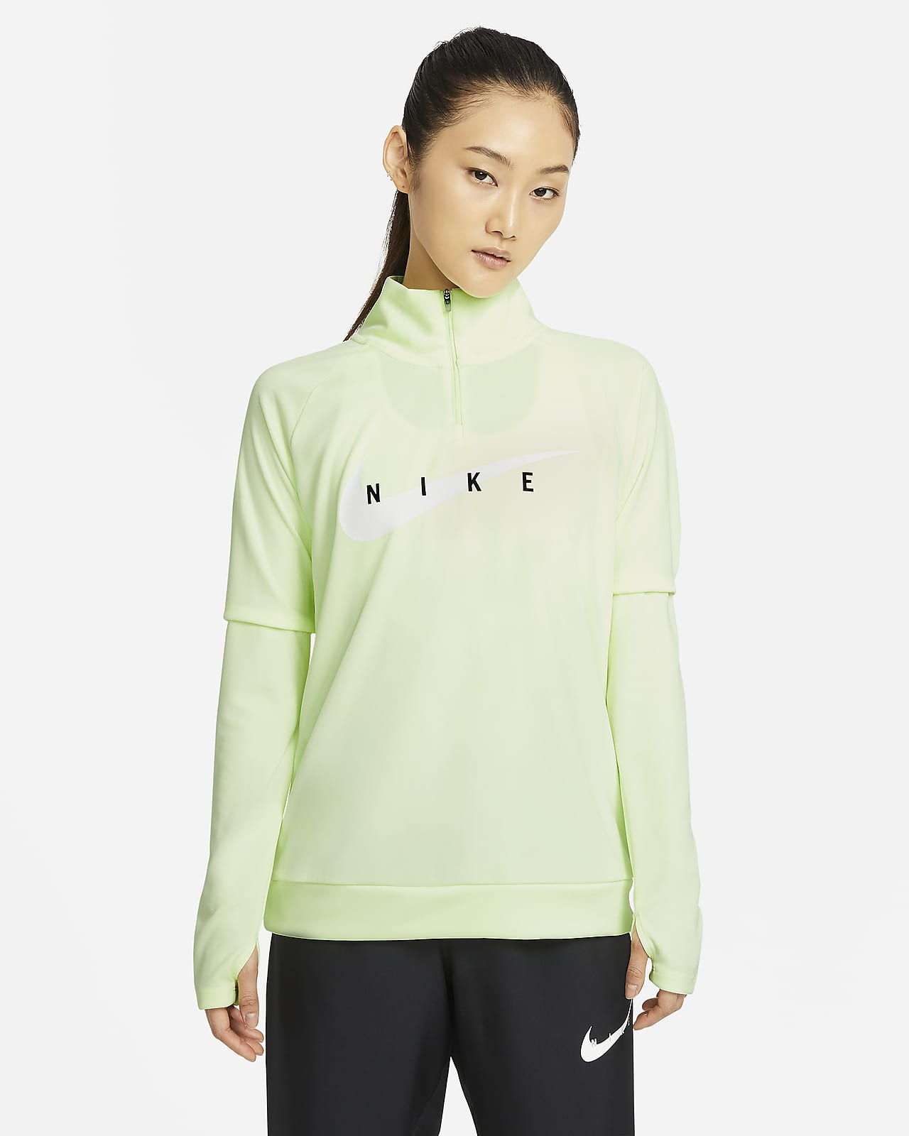 Nike Swoosh Run Camiseta de running - Mujer