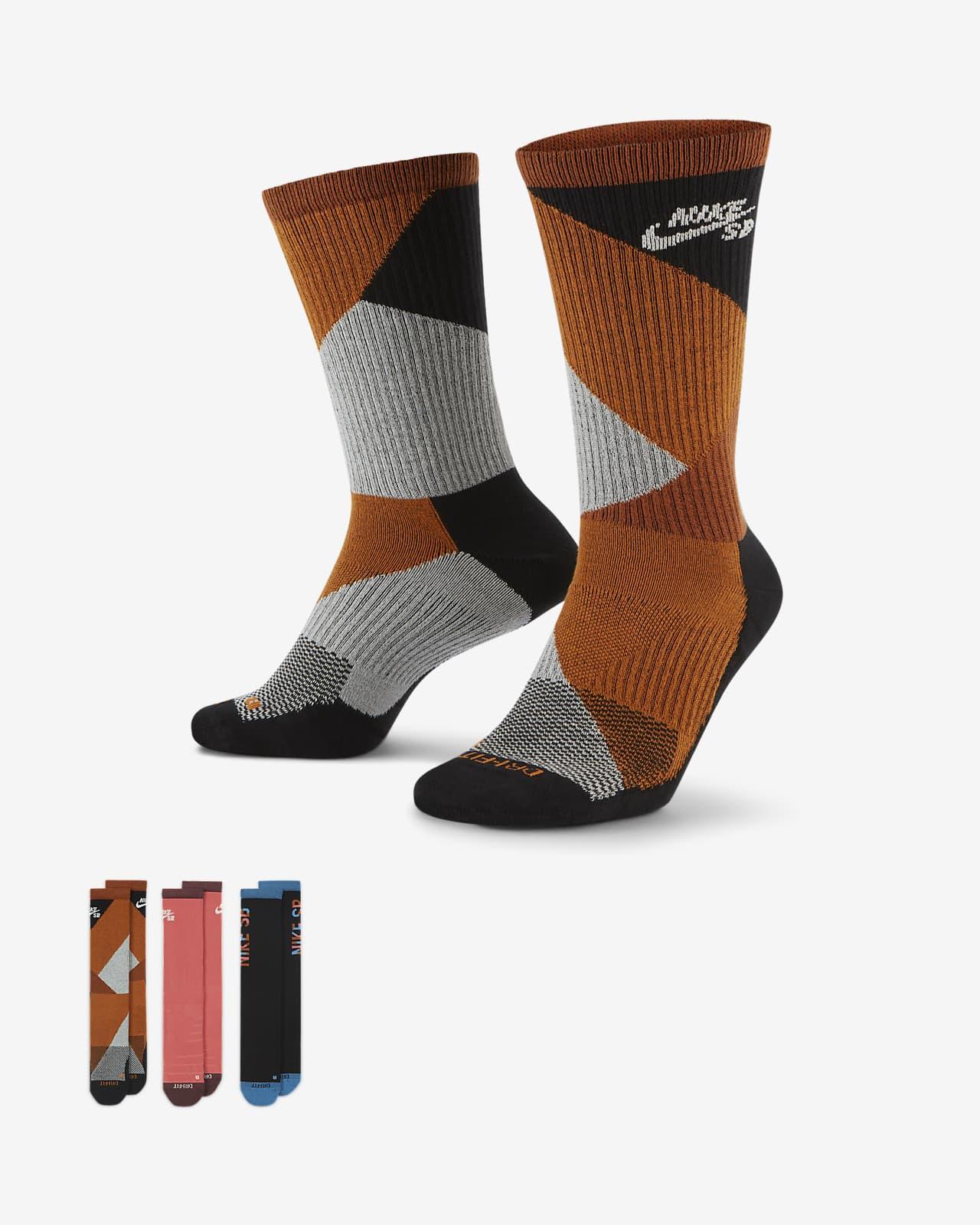 Klasyczne skarpety do skateboardingu Nike SB Everyday Max Lightweight (3 pary)