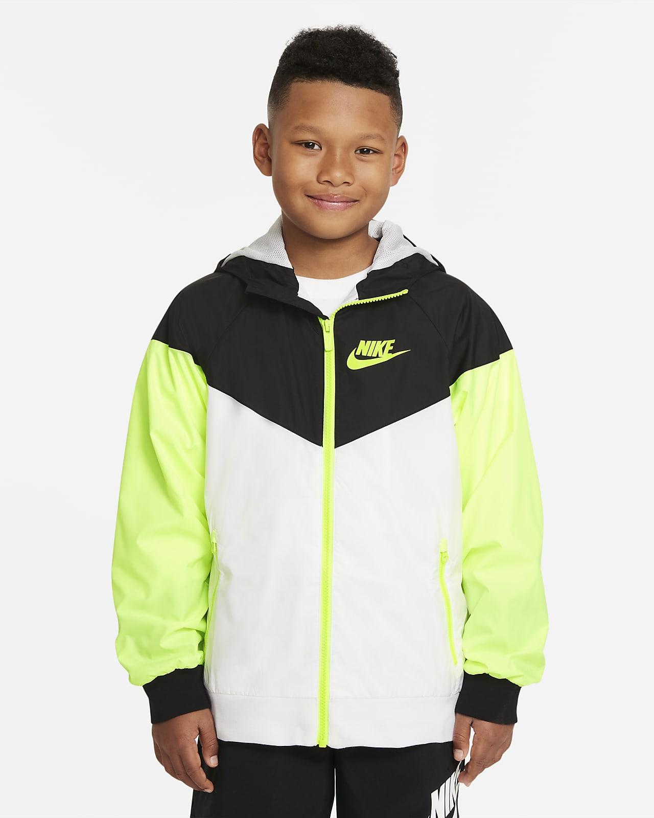 Nike Sportswear Windrunner Big Kids' (Boys') Hooded Jacket