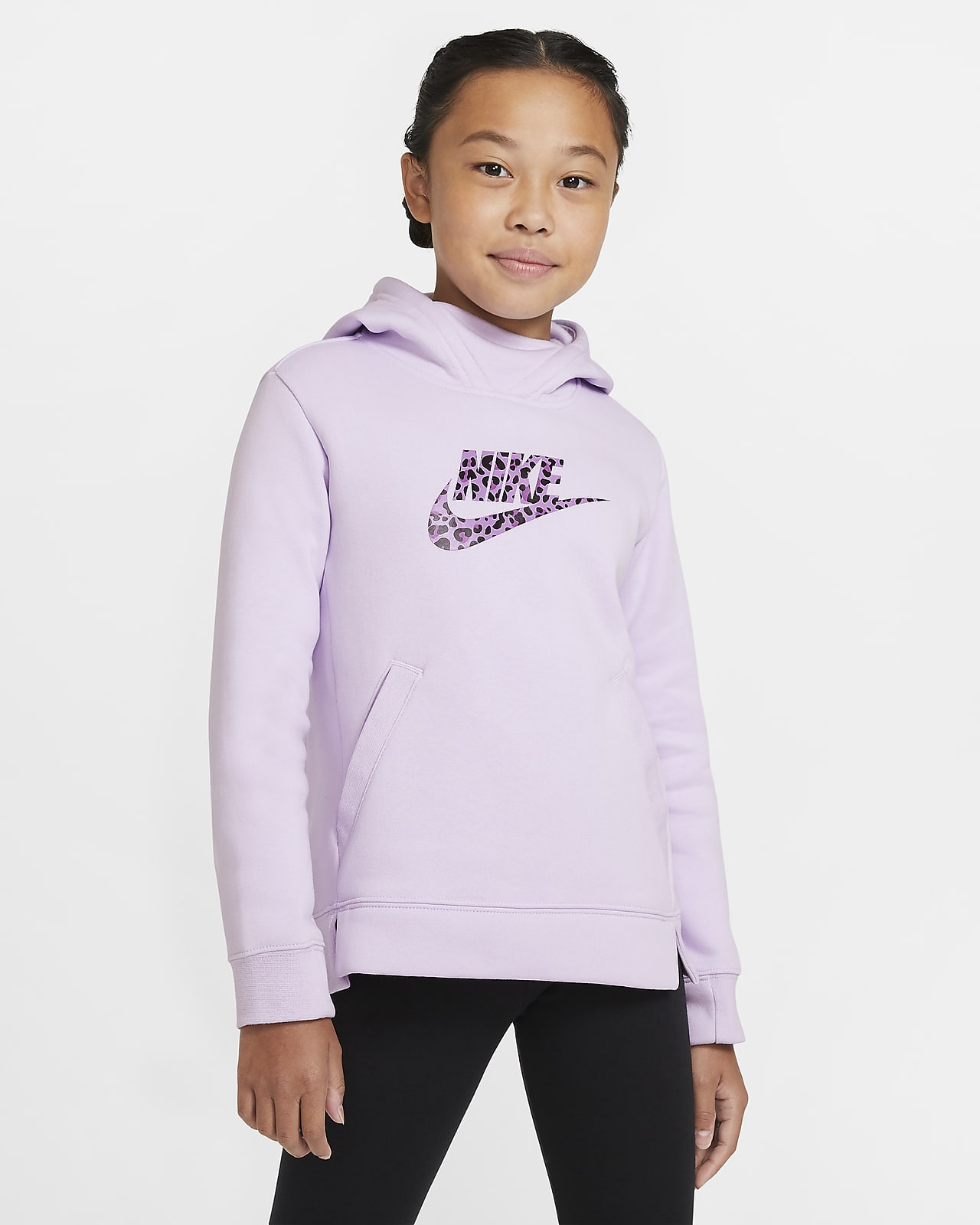 Худи для девочек школьного возраста Nike Sportswear