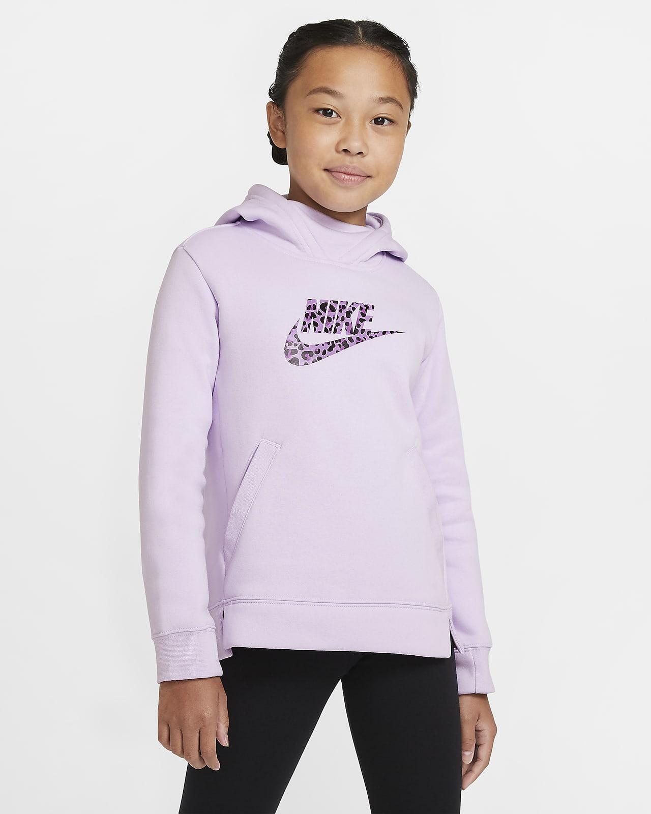 Mikina s kapucí Nike Sportswear pro větší děti (dívky)