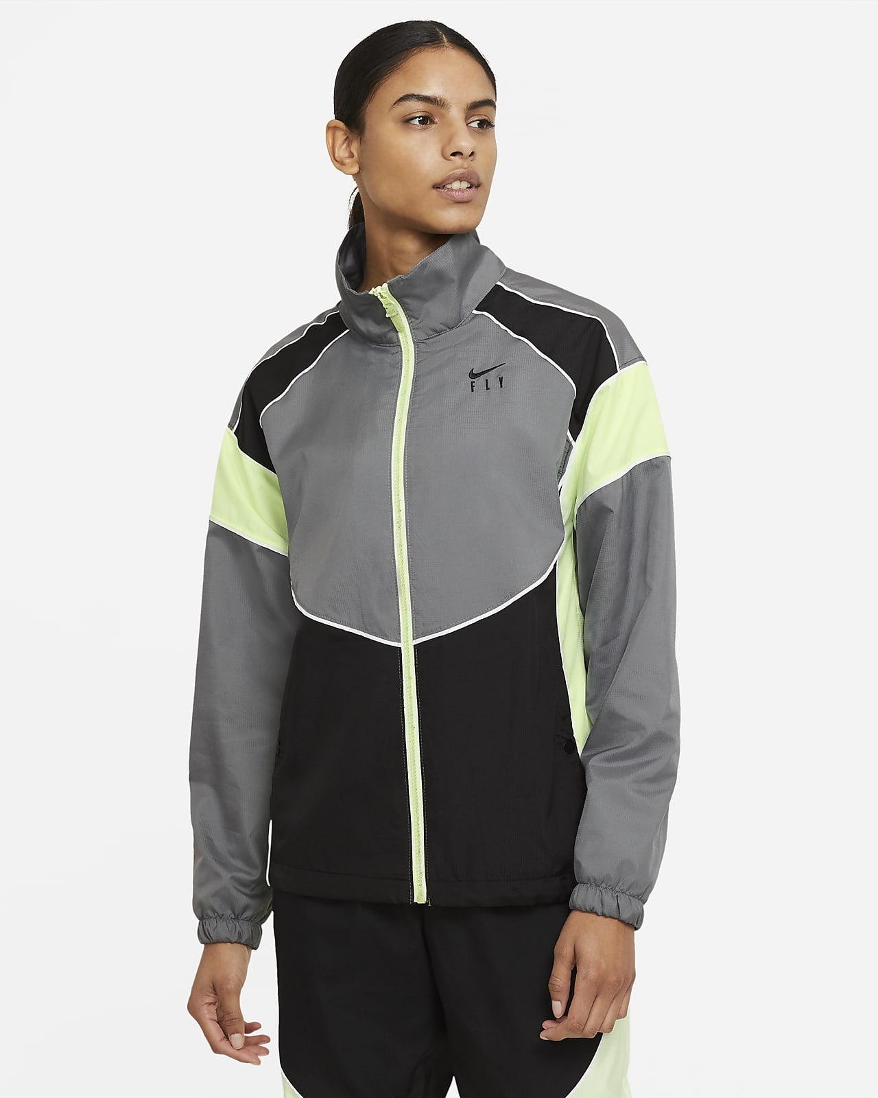 Nike Swoosh Fly Damen-Basketballjacke
