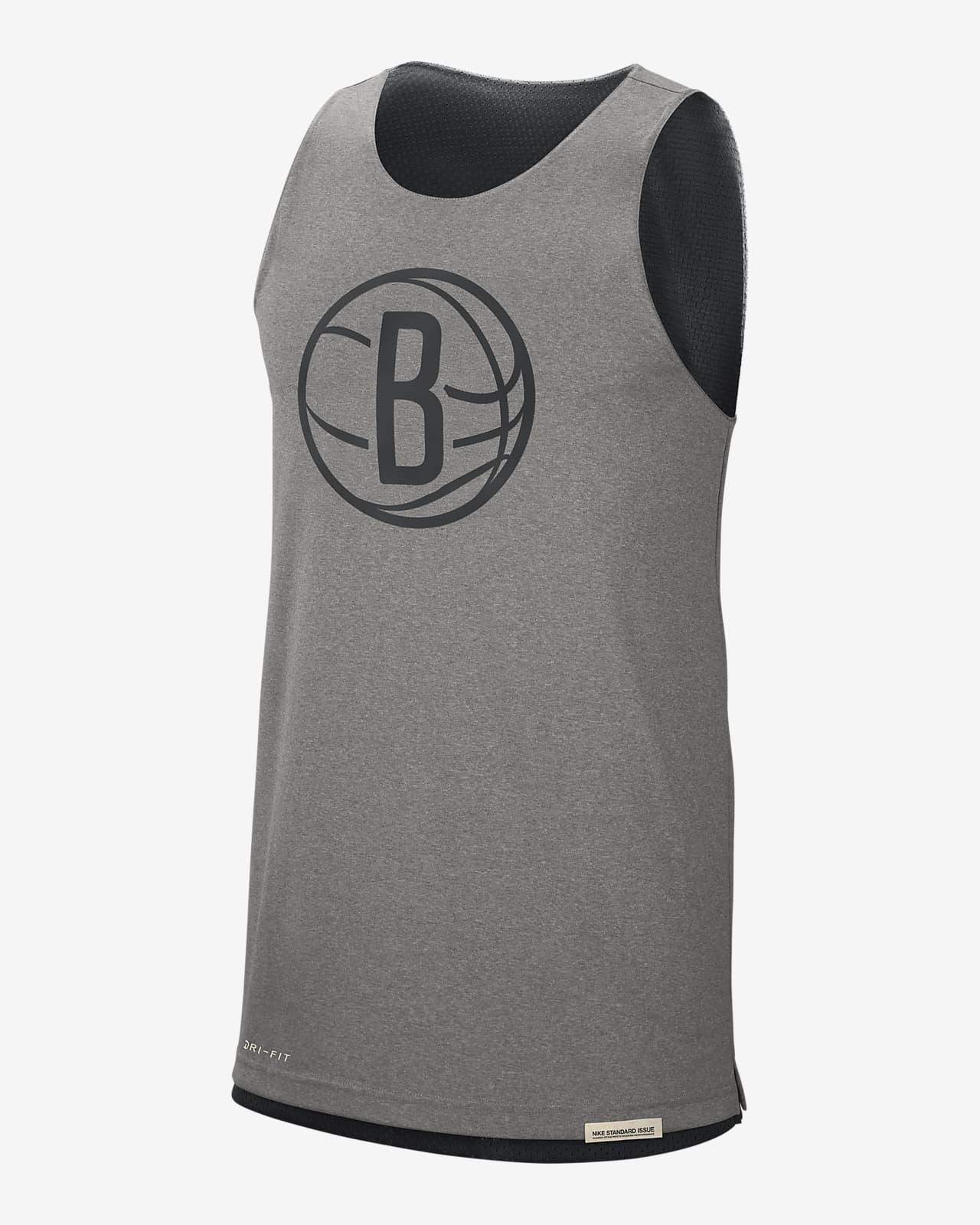 เสื้อกล้ามผู้ชายใส่ได้สองด้าน Nike NBA Brooklyn Nets Standard Issue