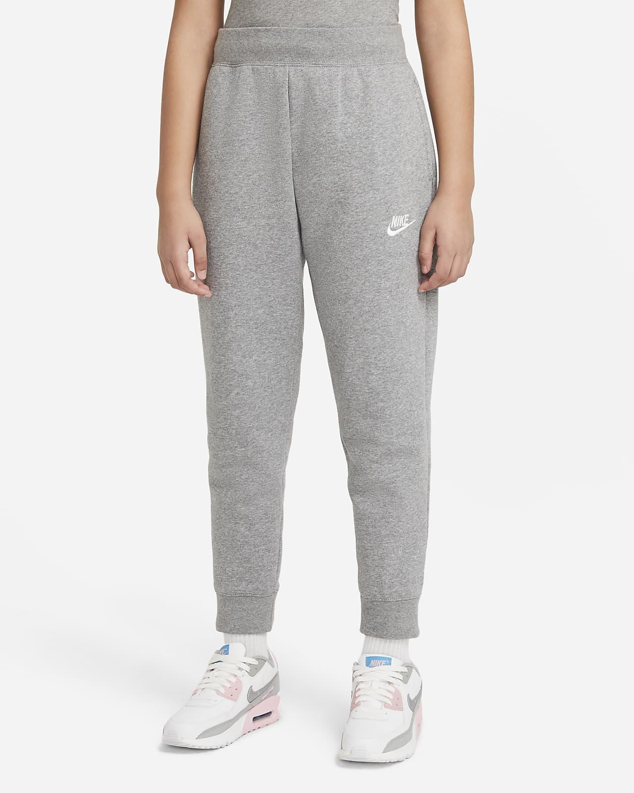 Kalhoty Nike Sportswear Club Fleece pro větší děti (dívky)
