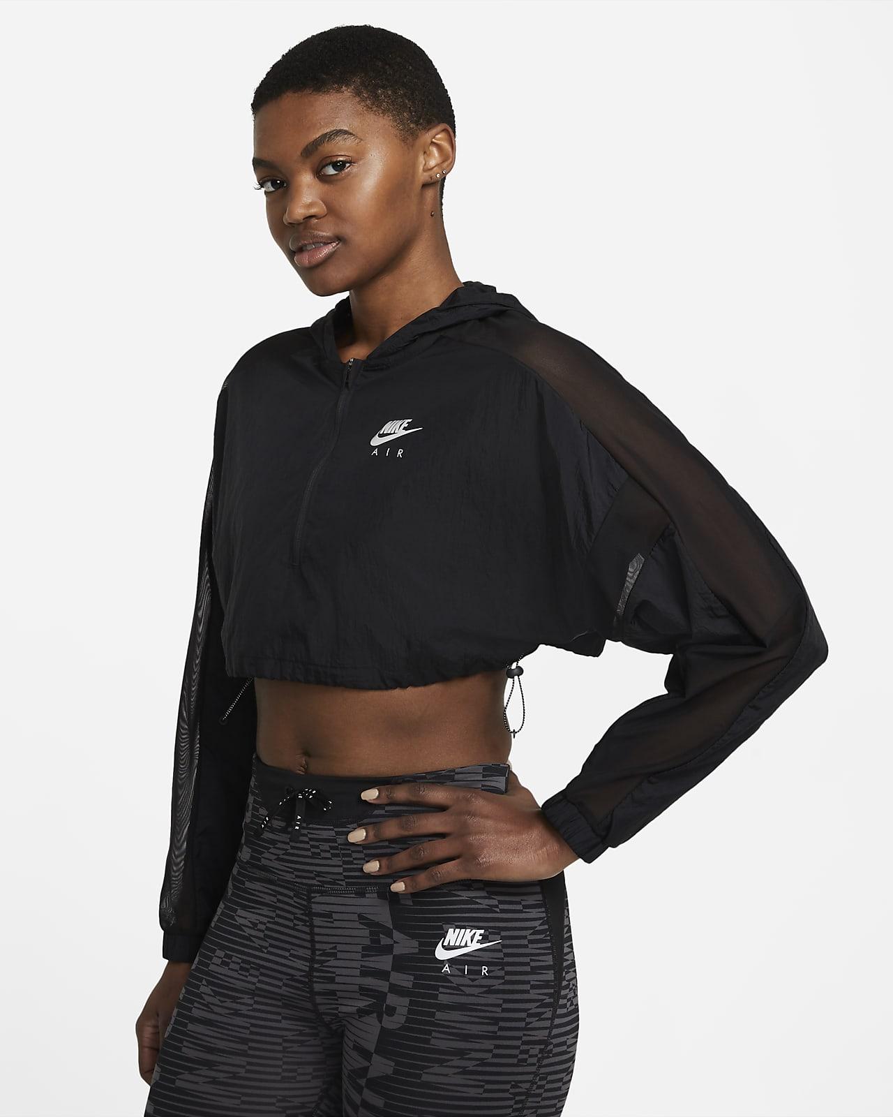Chamarra de running corta para mujer Nike Air