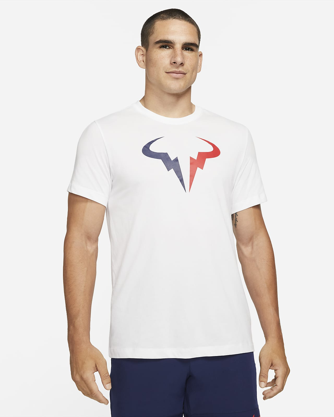 NikeCourt Dri-FIT Rafa Tennis-T-Shirt für Herren
