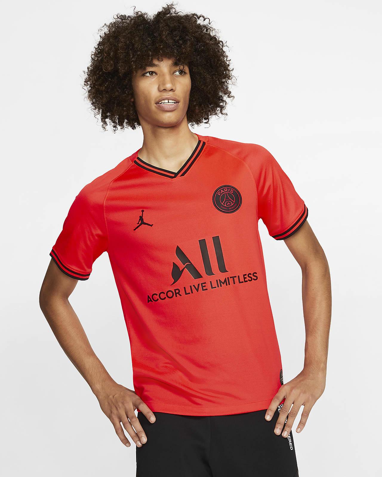 Camiseta de fútbol para hombre Jordan x Paris Saint-Germain 2019/20 Stadium Away