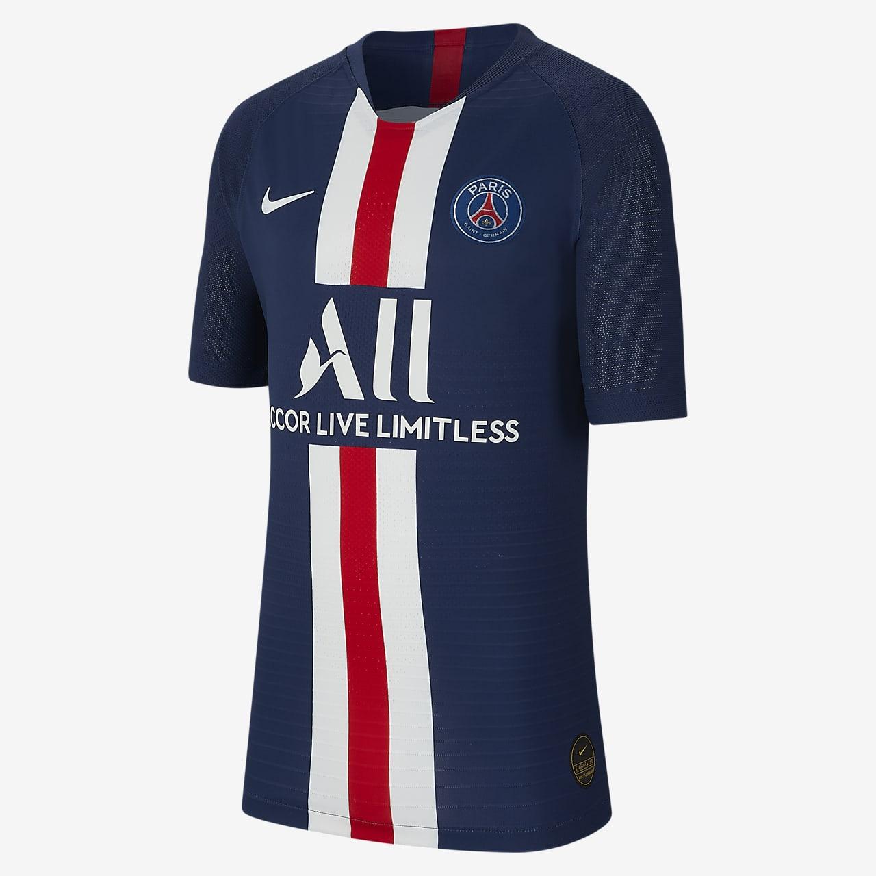 Paris Saint-Germain 2019/20 Vapor Match Home Older Kids' Football Shirt