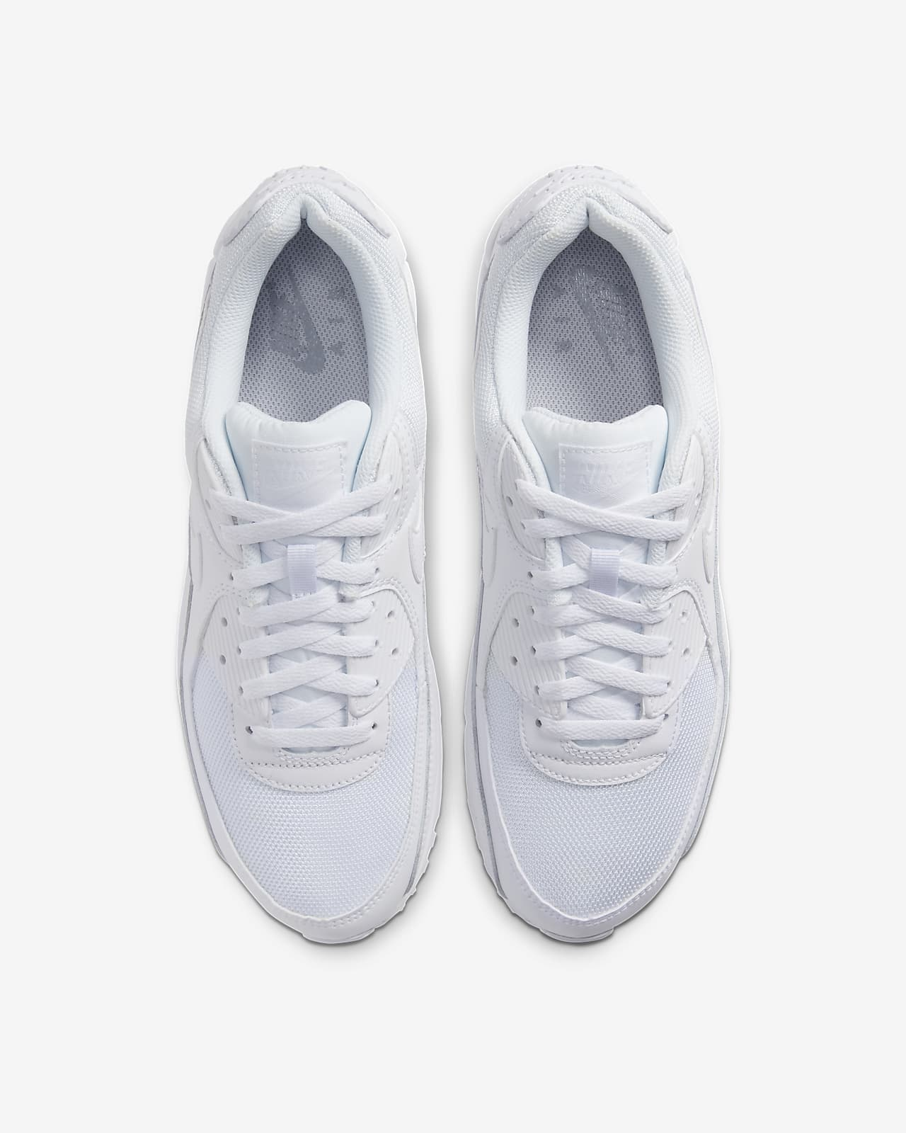 air max 90 hombre blancas tela
