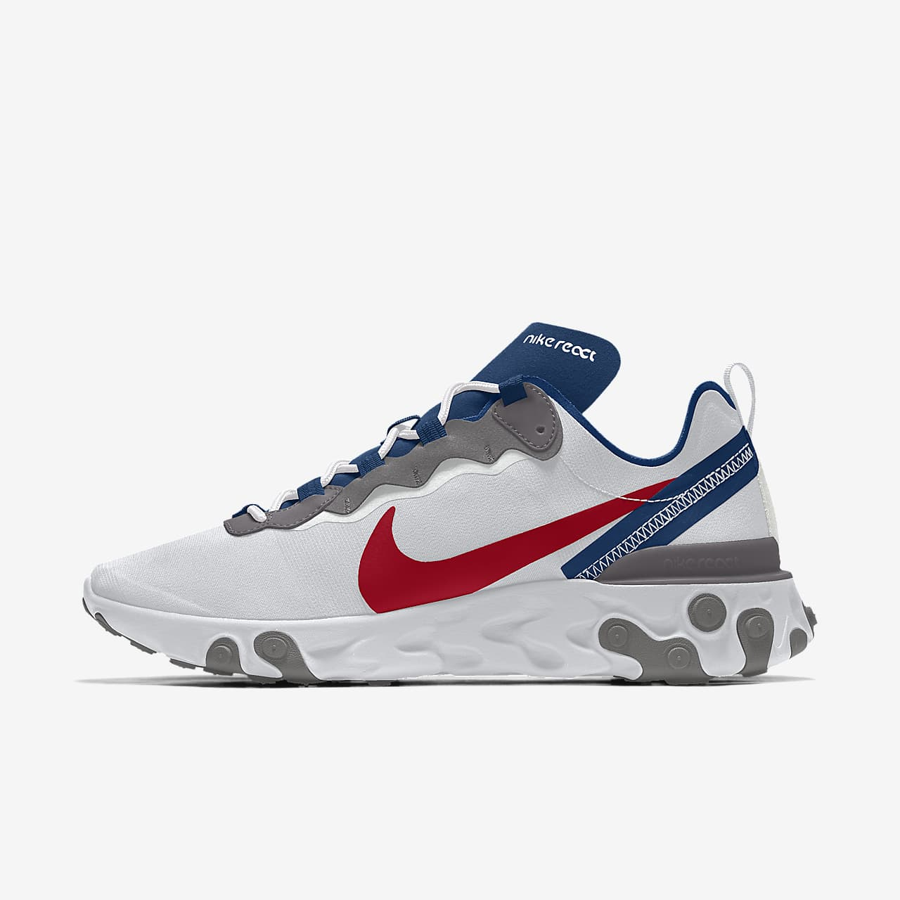 Nike React Element 55 By You personalisierbarer Herren-Freizeitschuh