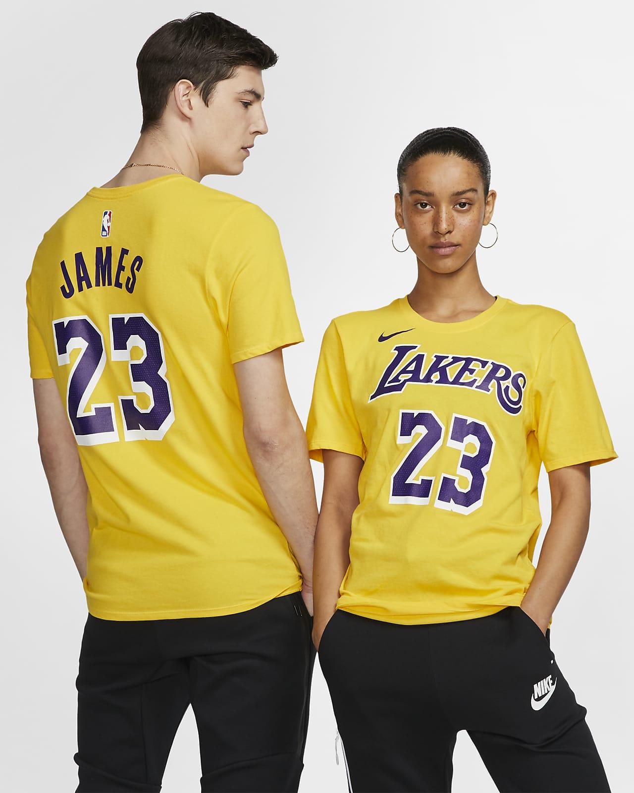 LeBron James Lakers Nike Dri-FIT NBA T