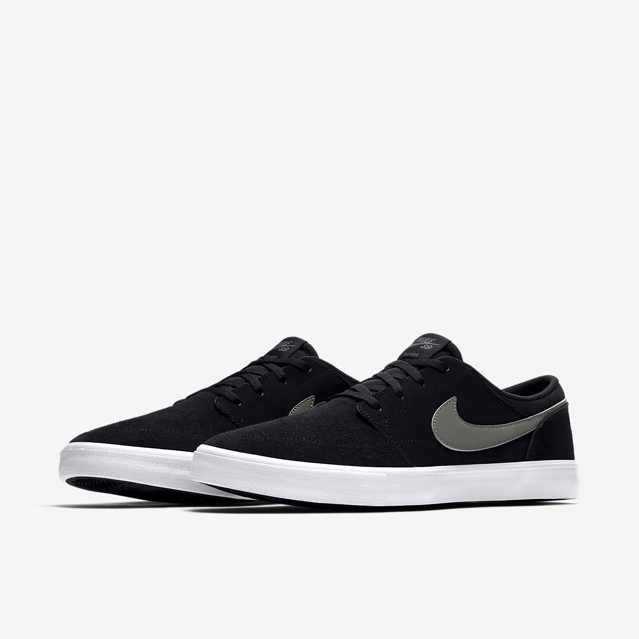 nike sb solarsoft portmore ii men's skate shoes off 66 ...