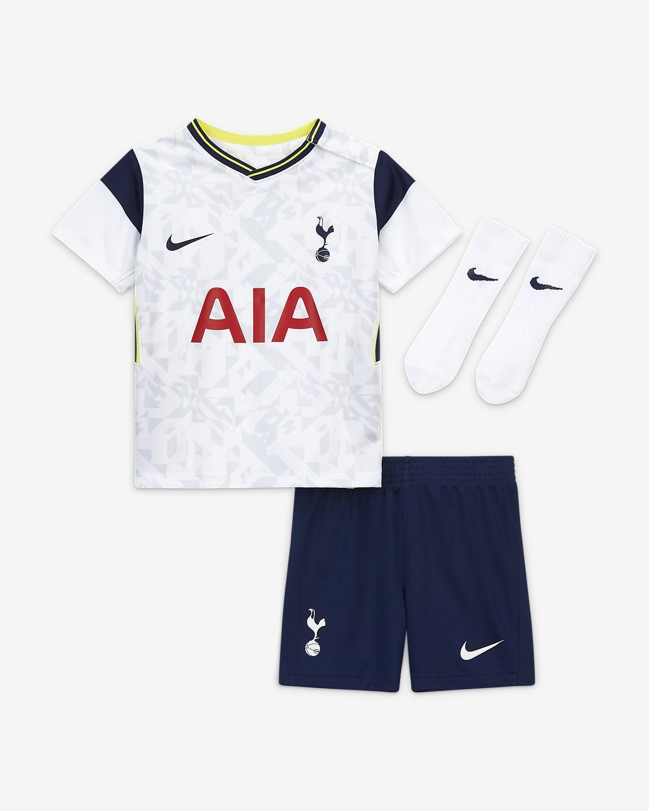 Tottenham Hotspur 2020/21 Home Fußballtrikot-Set für Babys und Kleinkinder
