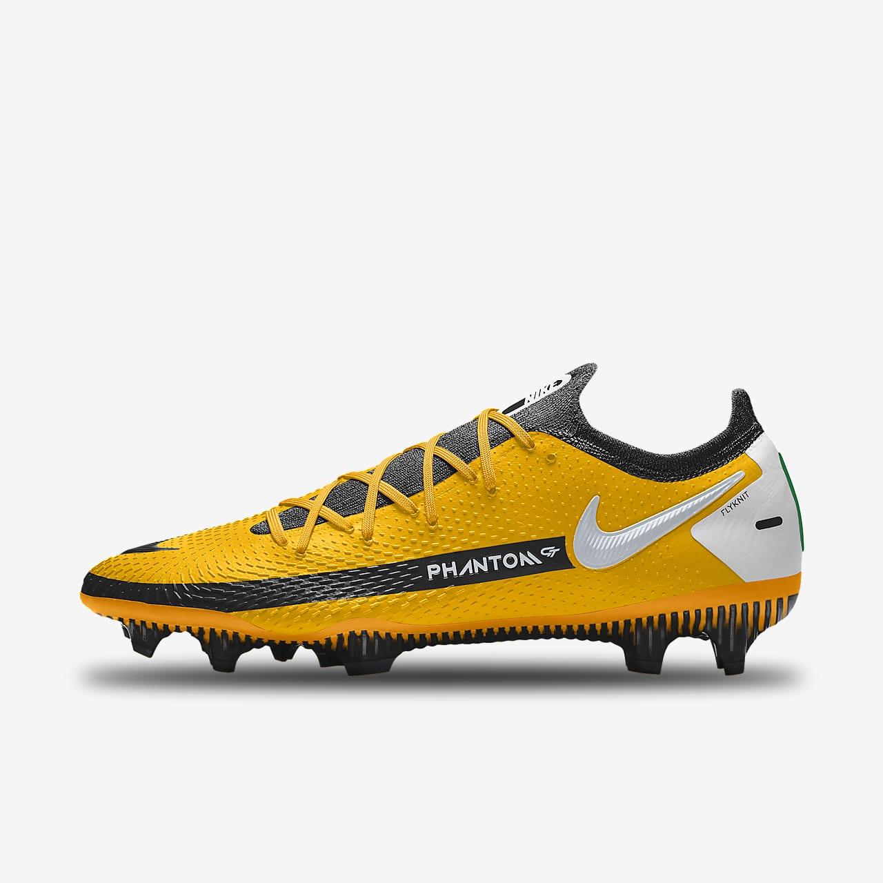 Nike Phantom GT Elite By You personalisierbarer Fußballschuh für normalen Rasen
