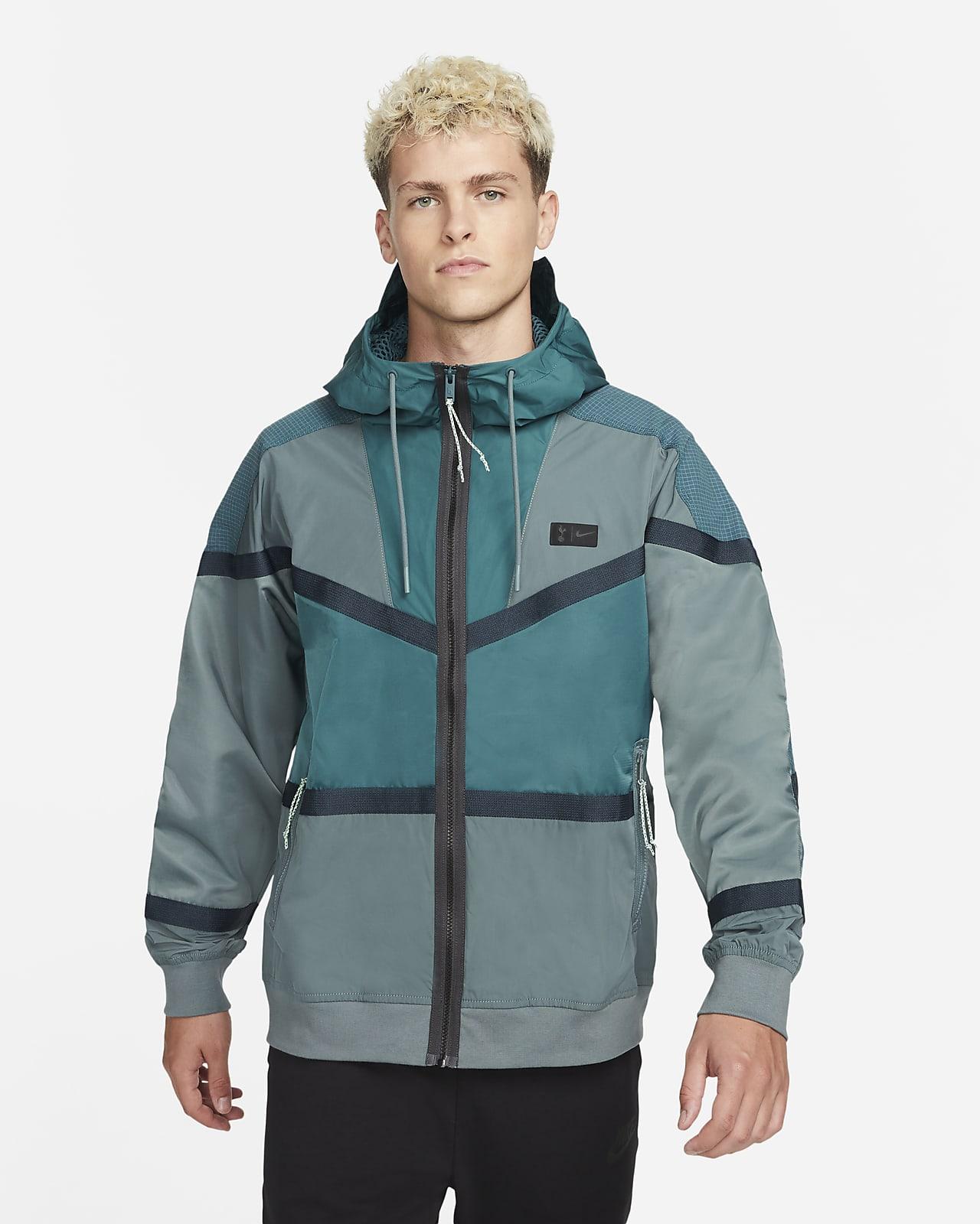 Tottenham Hotspur Men's Hooded Woven Jacket