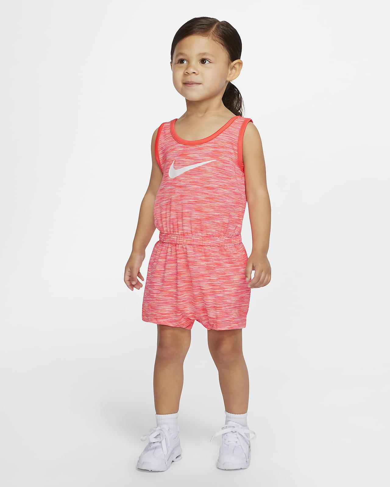 Nike Baby (12-24M) Striped Romper