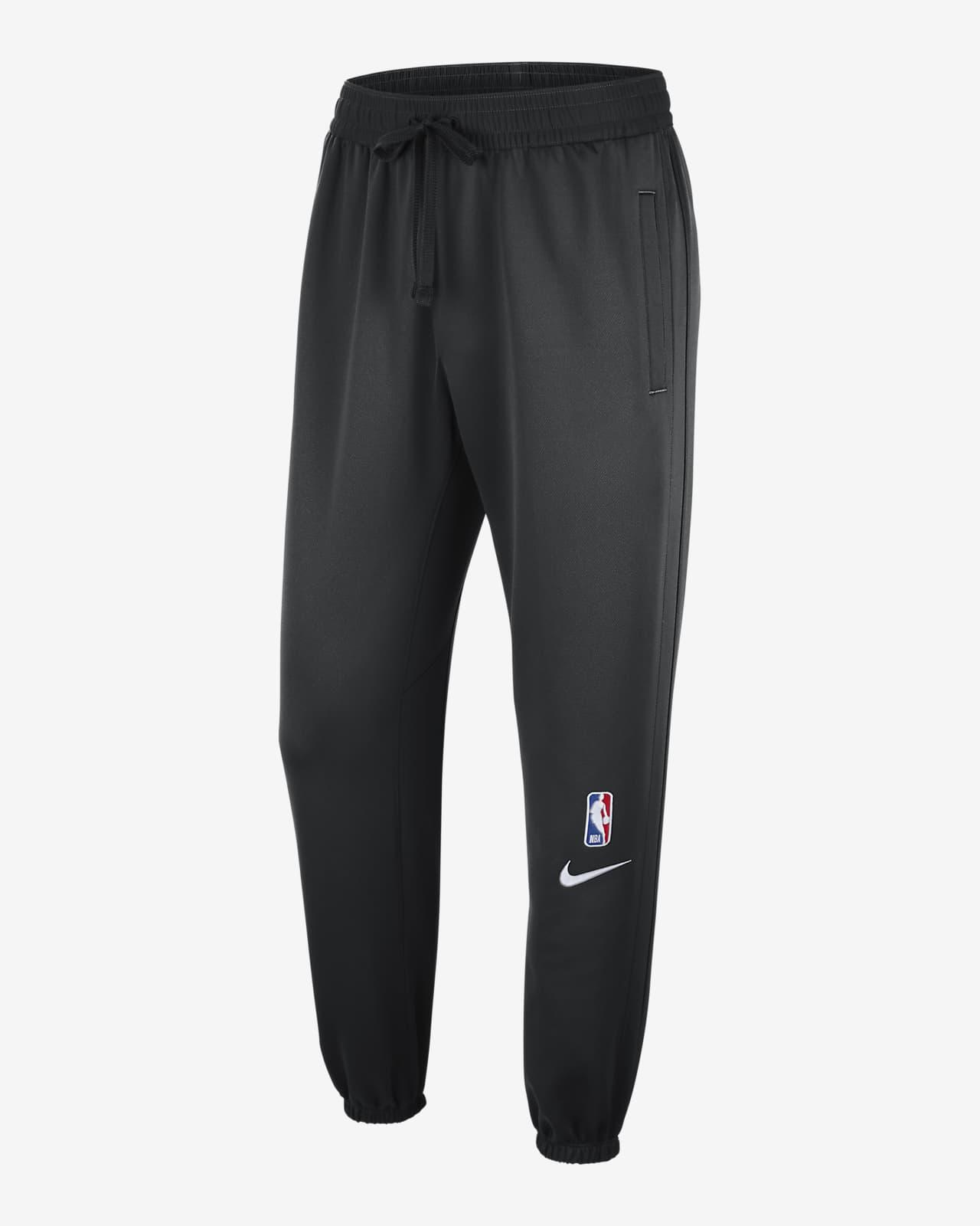 Brooklyn Nets Showtime Men's Nike Therma Flex NBA Trousers