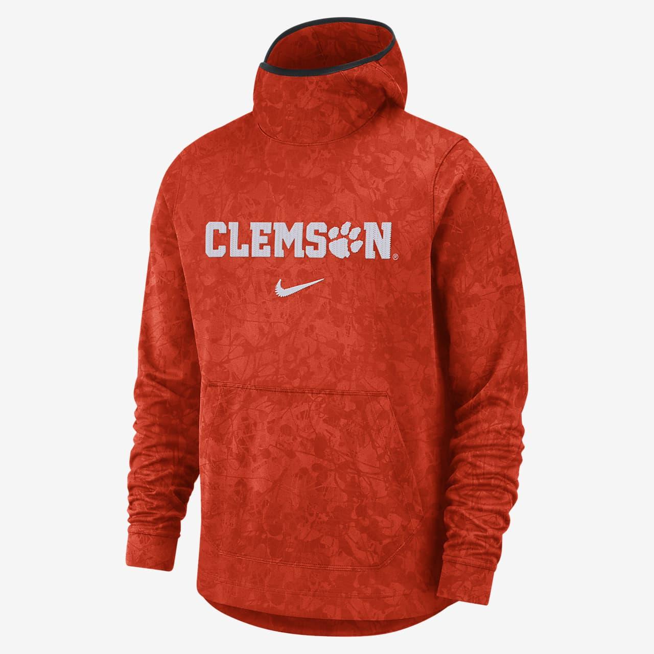 Nike College Dri-FIT Spotlight (Clemson) Men's Pullover Basketball Hoodie