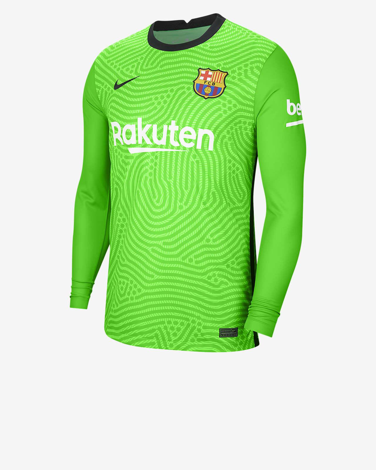 FC Barcelona 2020/21 Stadium Goalkeeper HerrenFußballtrikot