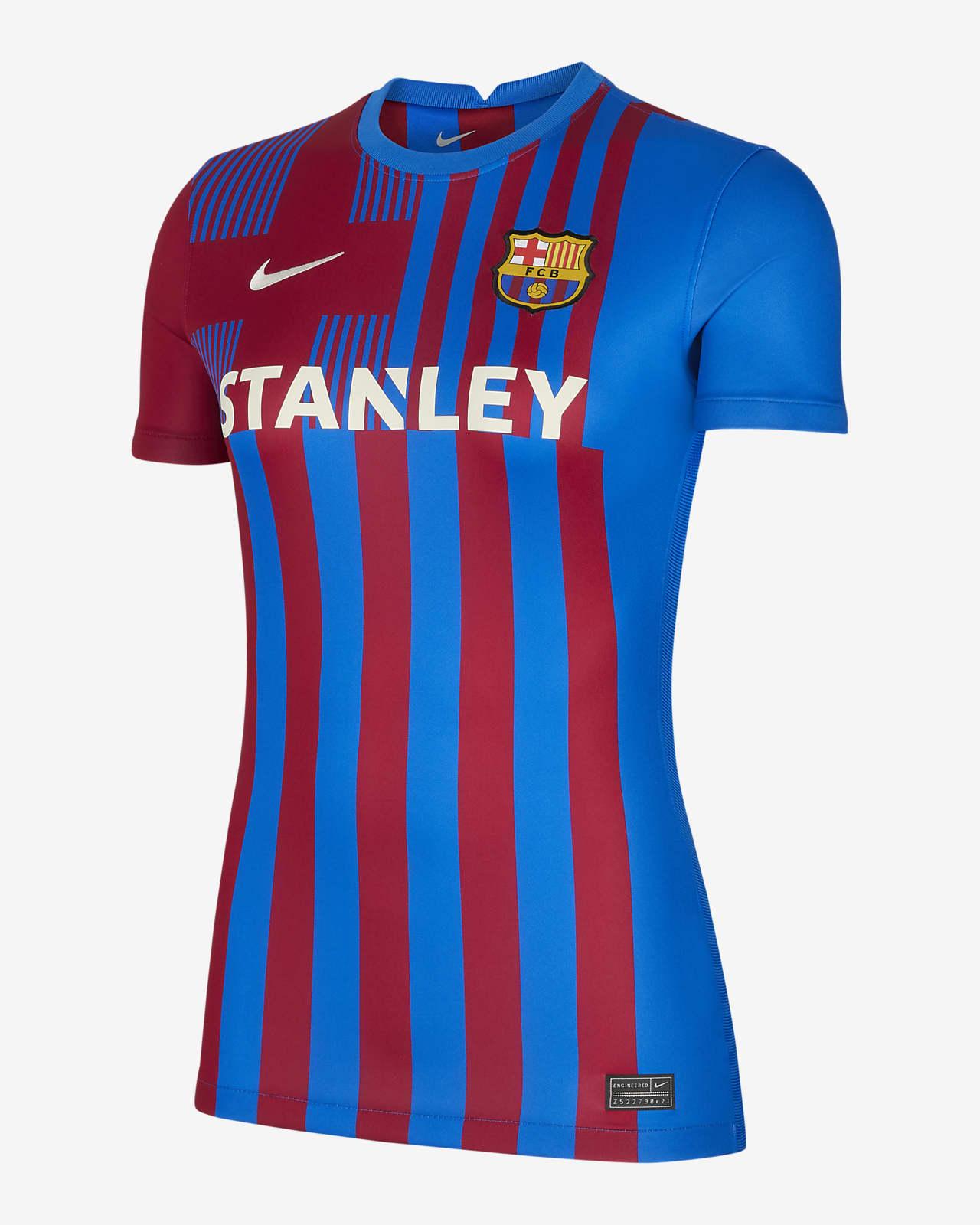 Dámský domácí fotbalový dres FC Barcelona Stadium2021/22