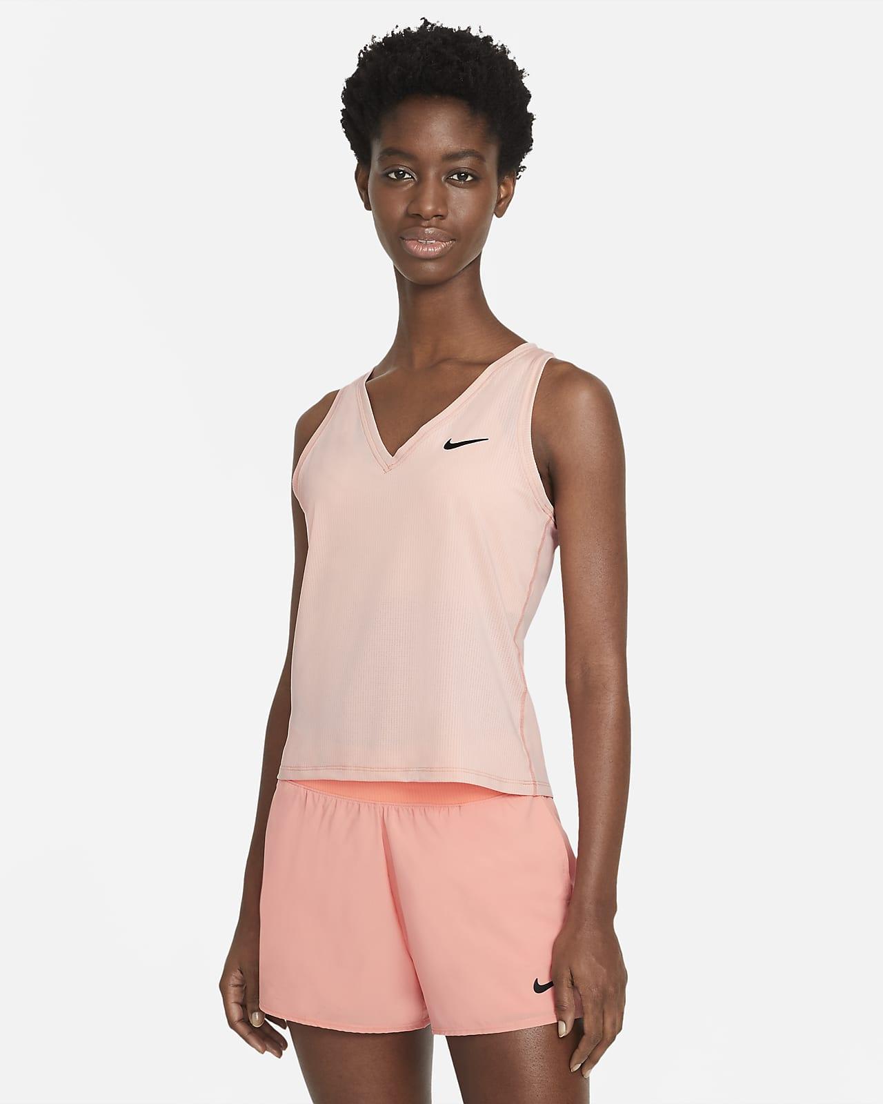 Camiseta de tirantes de tenis para mujer NikeCourt Victory