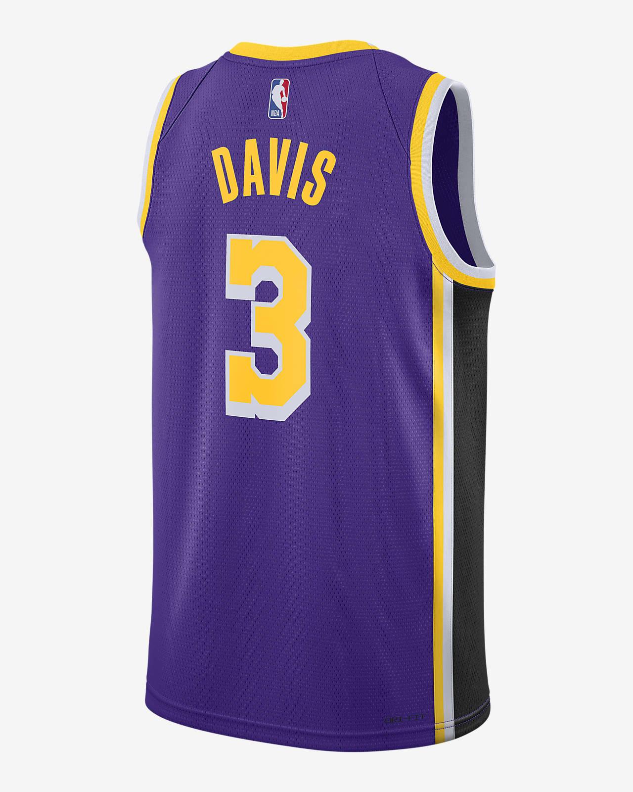 Anthony Davis Lakers Statement Edition 2020 Jordan NBA Swingman Jersey