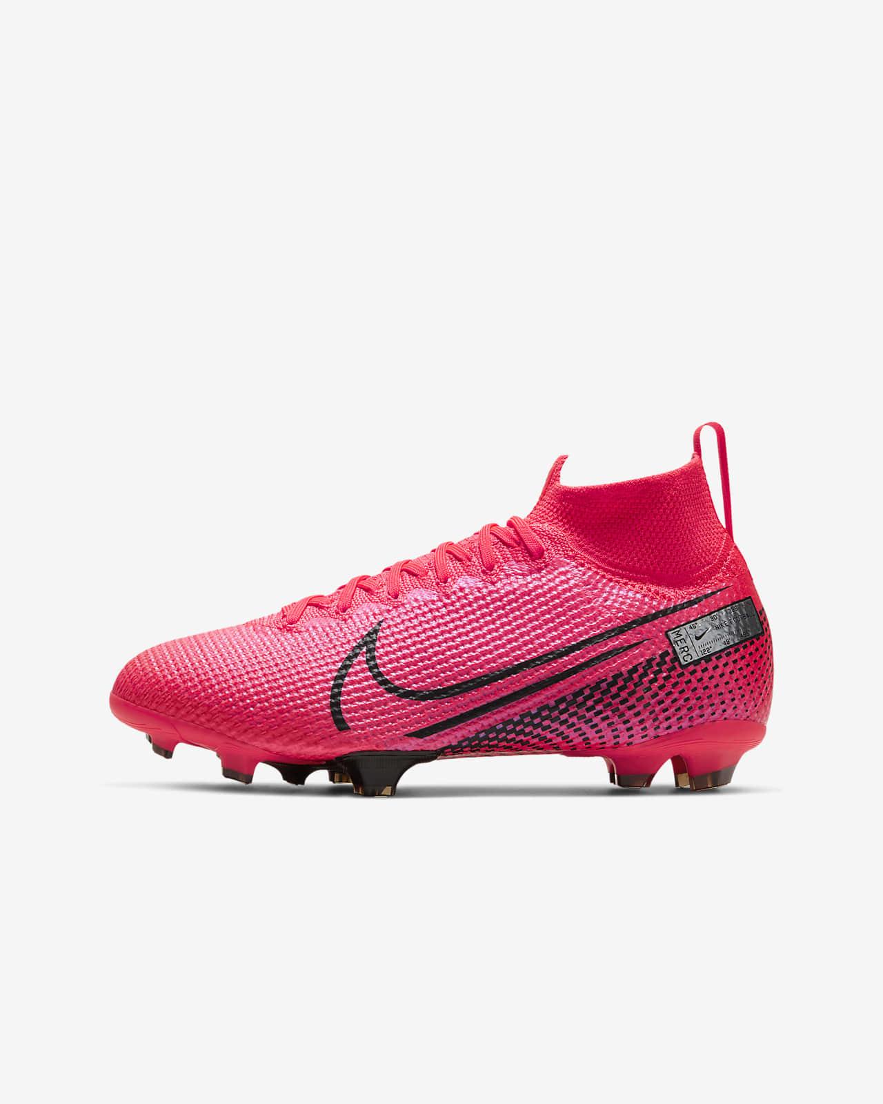 fútbol zapatos de niño nike mercurial superfly vi élite fg