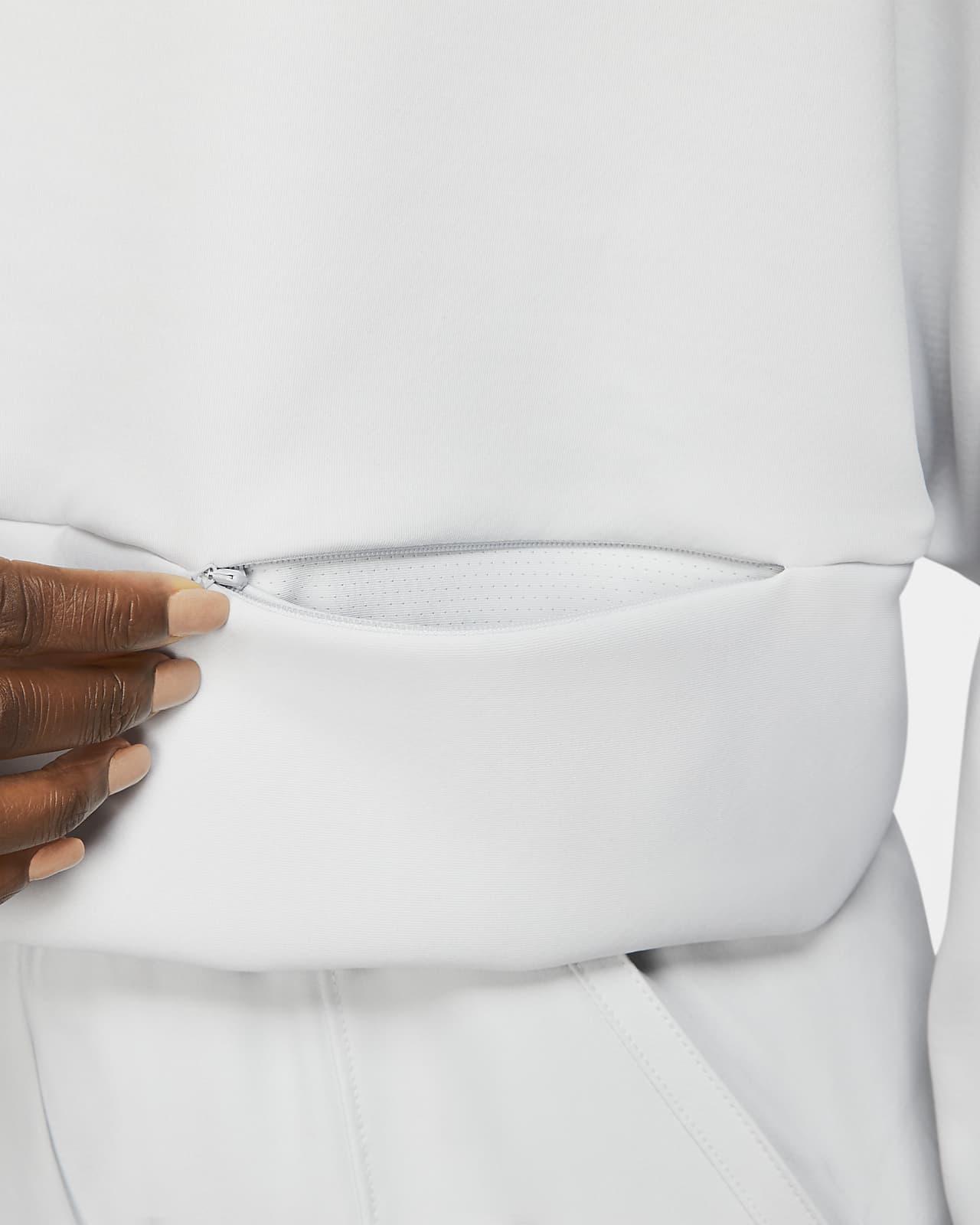 Sweat à capuche en Fleece Nike Pro pour Femme