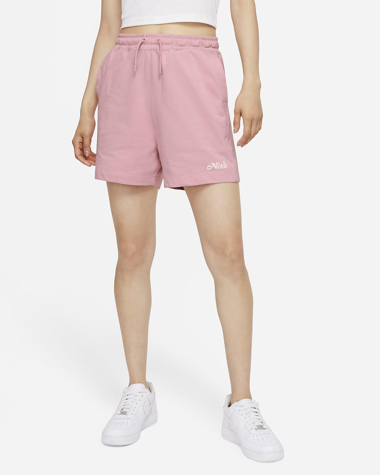 กางเกงขาสั้นเจอร์ซีย์ผู้หญิง Nike Sportswear