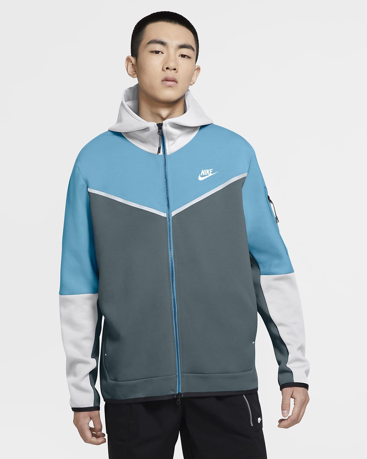 Męska bluza z kapturem i zamkiem na całej długości Nike Sportswear Tech Fleece