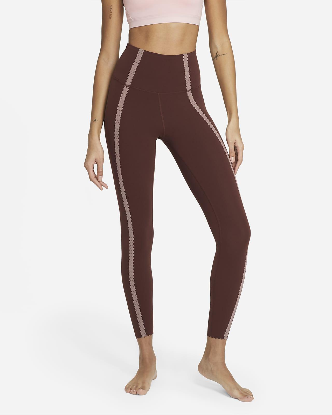 Nike Yoga Luxe Women's 7/8 Eyelet Leggings