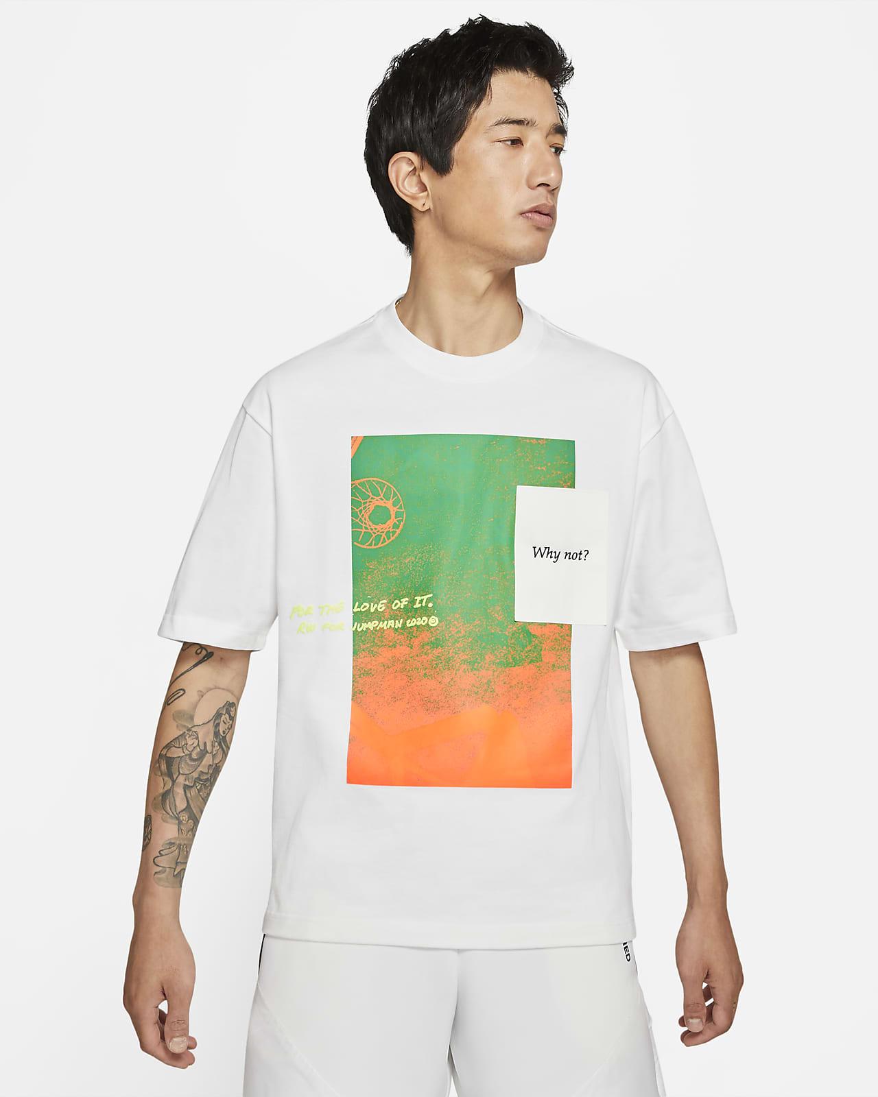 "Jordan ""Why Not?"" 男子短袖T恤"