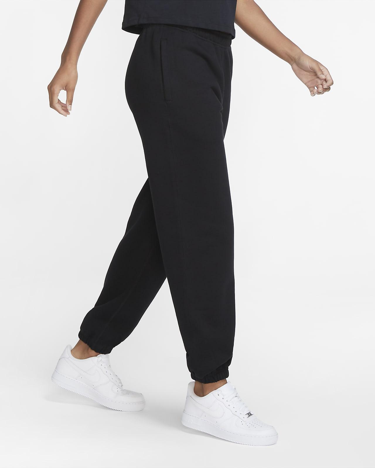 กางเกงขายาวผ้าฟลีซผู้หญิง NikeLab