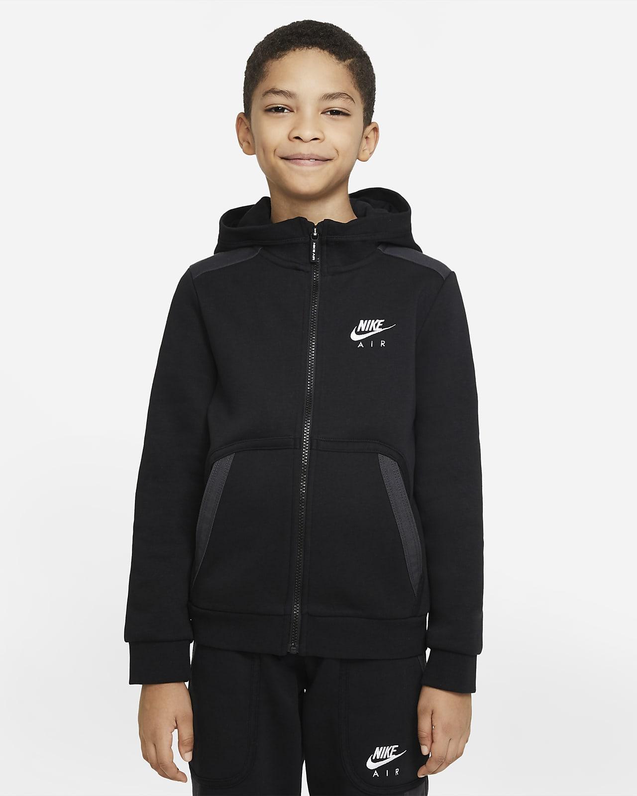 Nike Air Older Kids' (Boys') Full-Zip Hoodie