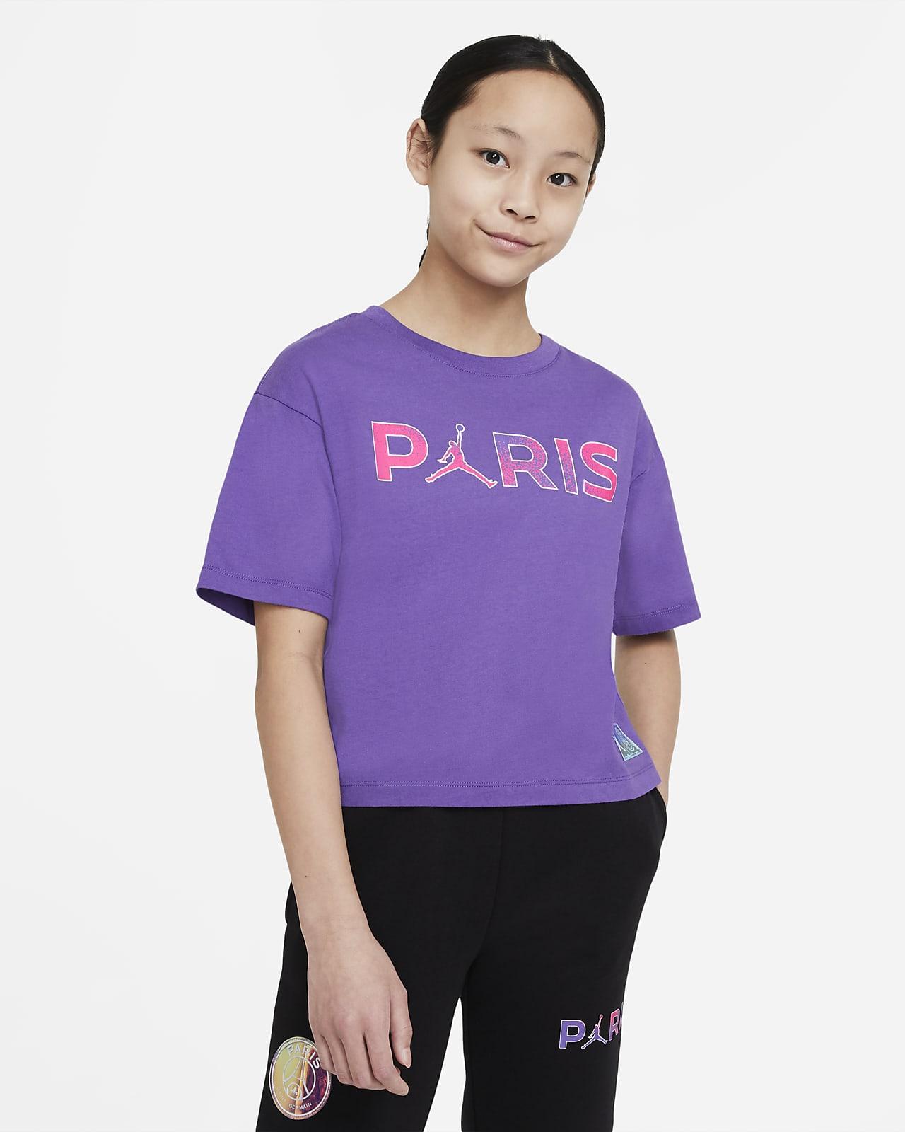 Tee-shirt Paris Saint-Germain pour Fille plus âgée