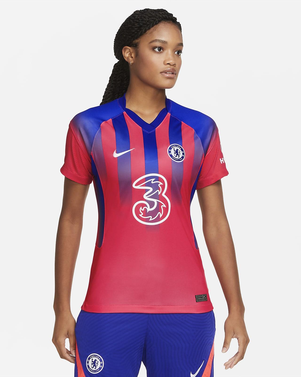 3e maillot de football Chelsea FC 2020/21 Stadium pour Femme