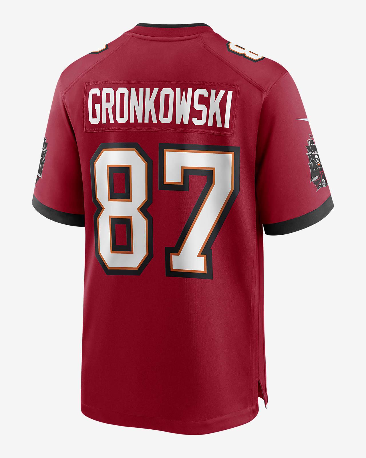 NFL Tampa Bay Buccaneers (Rob Gronkowski) Men's Game Jersey