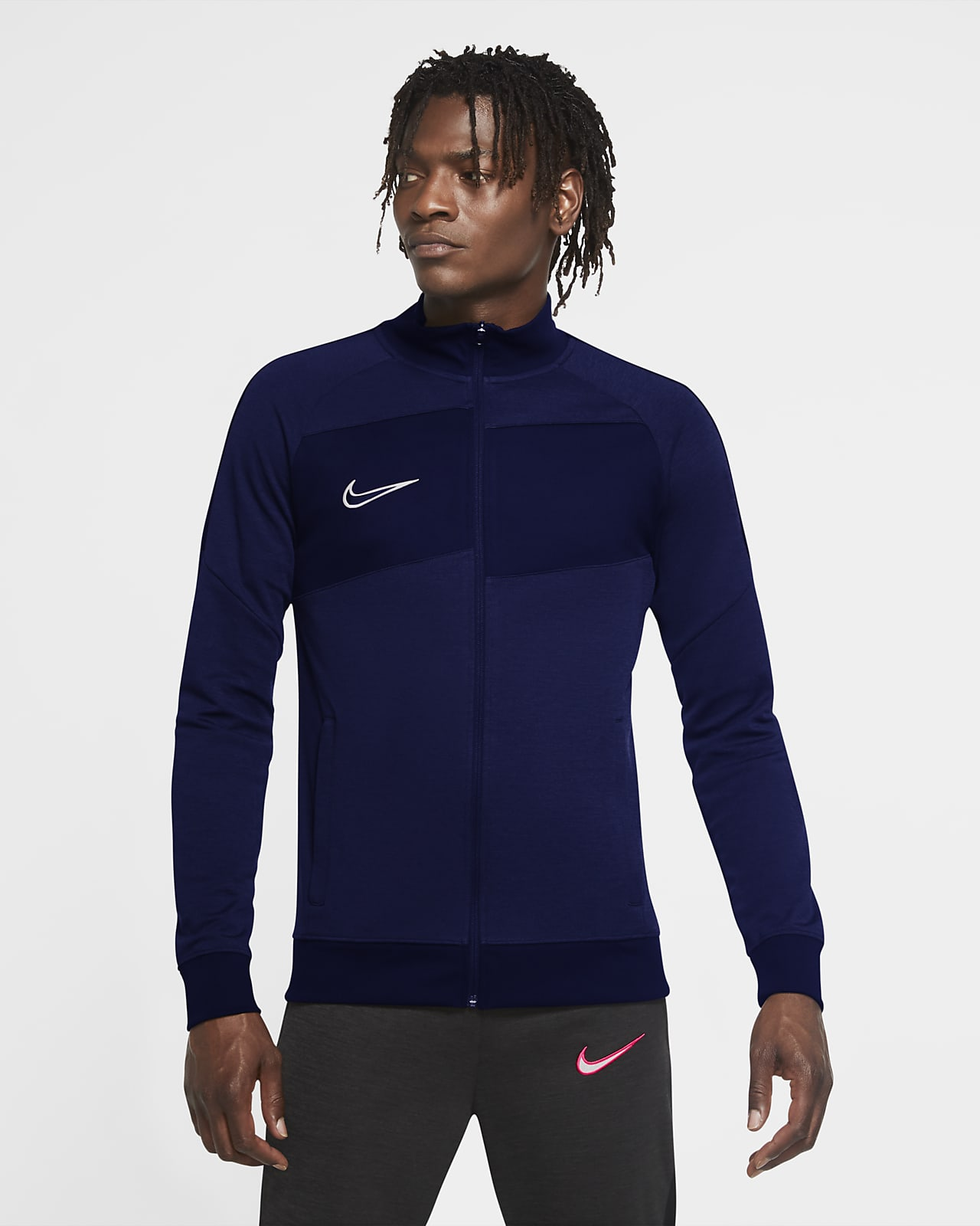 Ανδρικό πλεκτό ποδοσφαιρικό τζάκετ φόρμας Nike Dri-FIT Academy