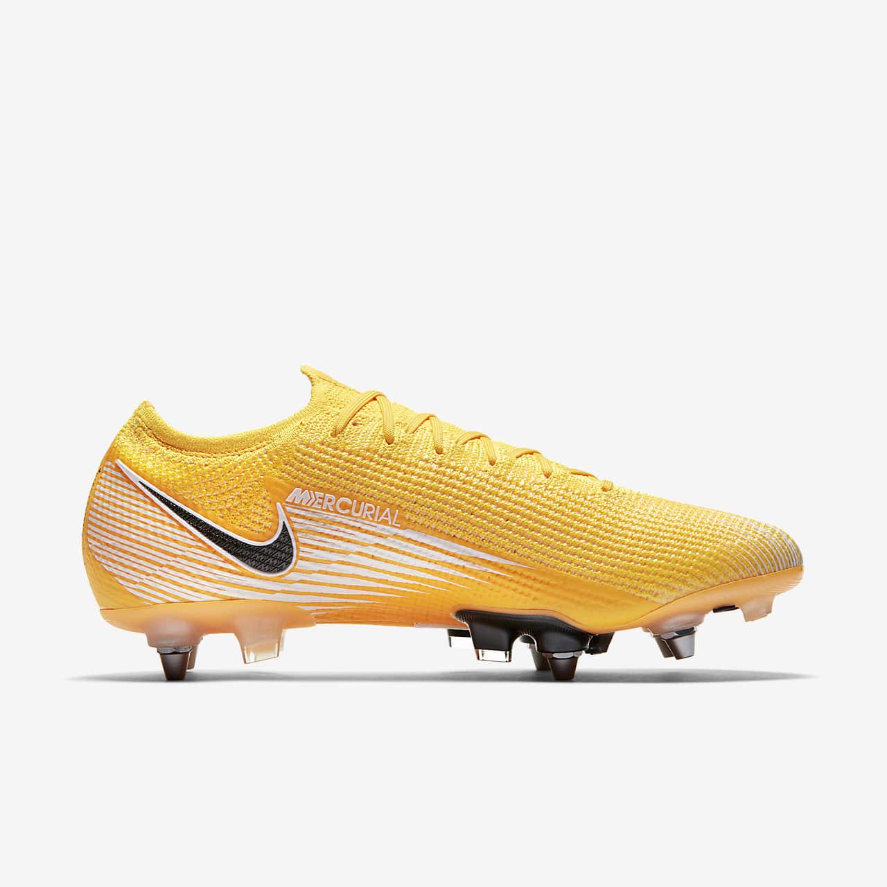 Chaussure de football à crampons pour terrain gras Nike Mercurial Vapor 13 Elite SG PRO