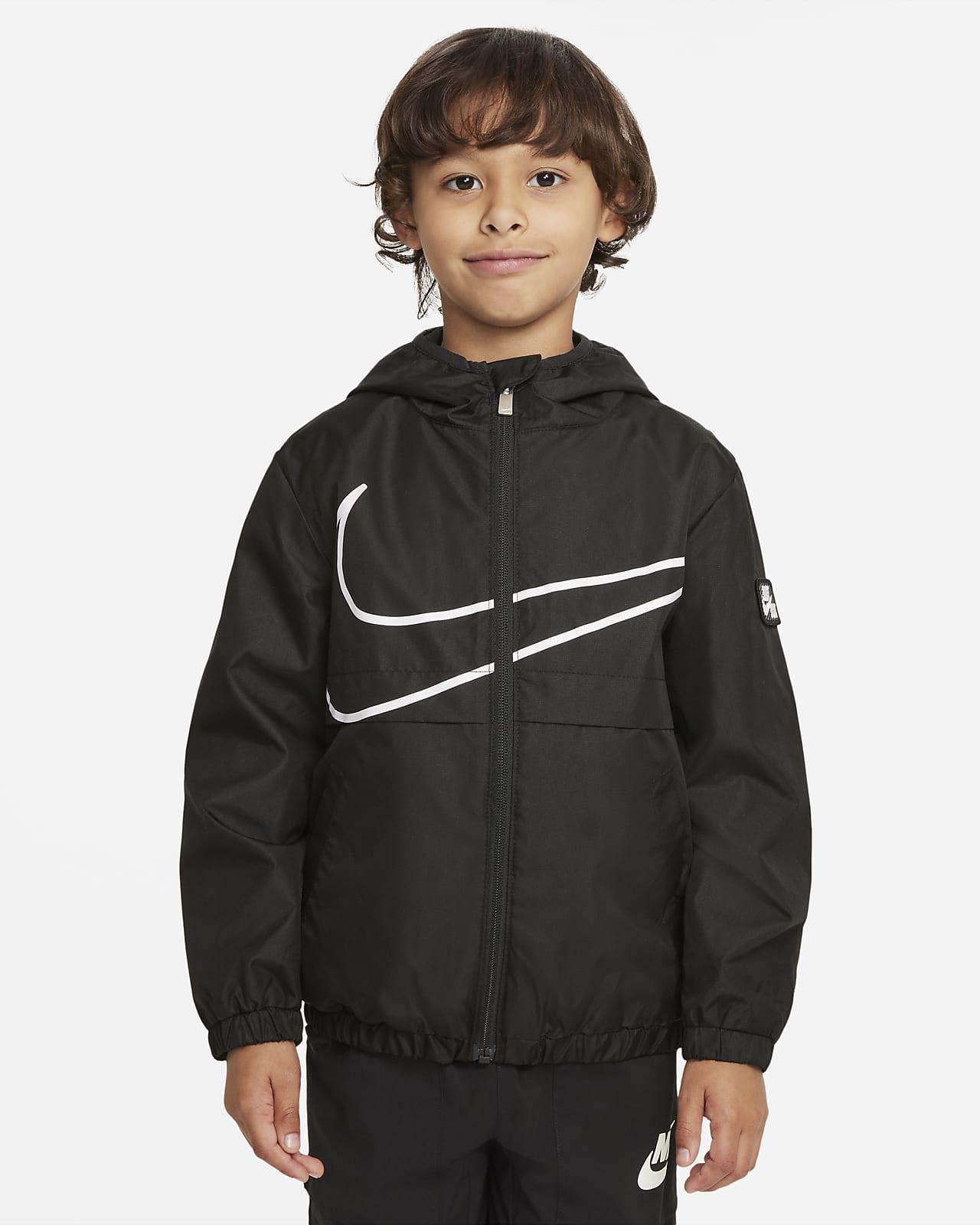 Casaco com fecho completo Nike Sportswear Windrunner para criança