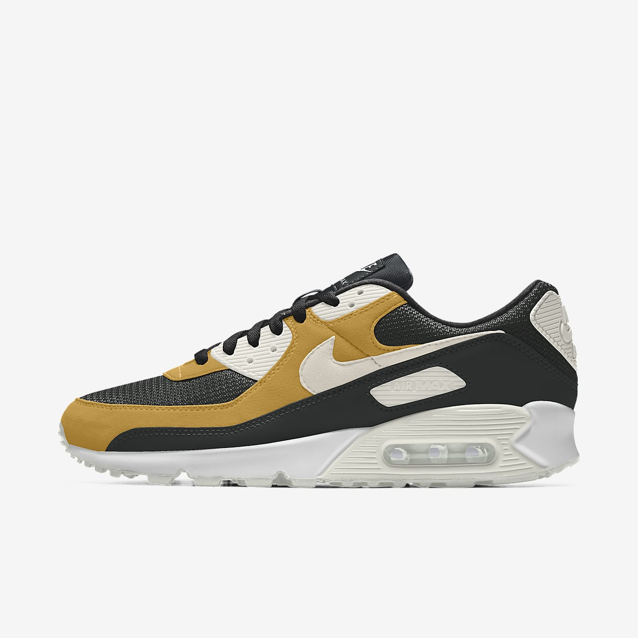 Specialdesignad sko Nike Air Max 90 By You för kvinnor