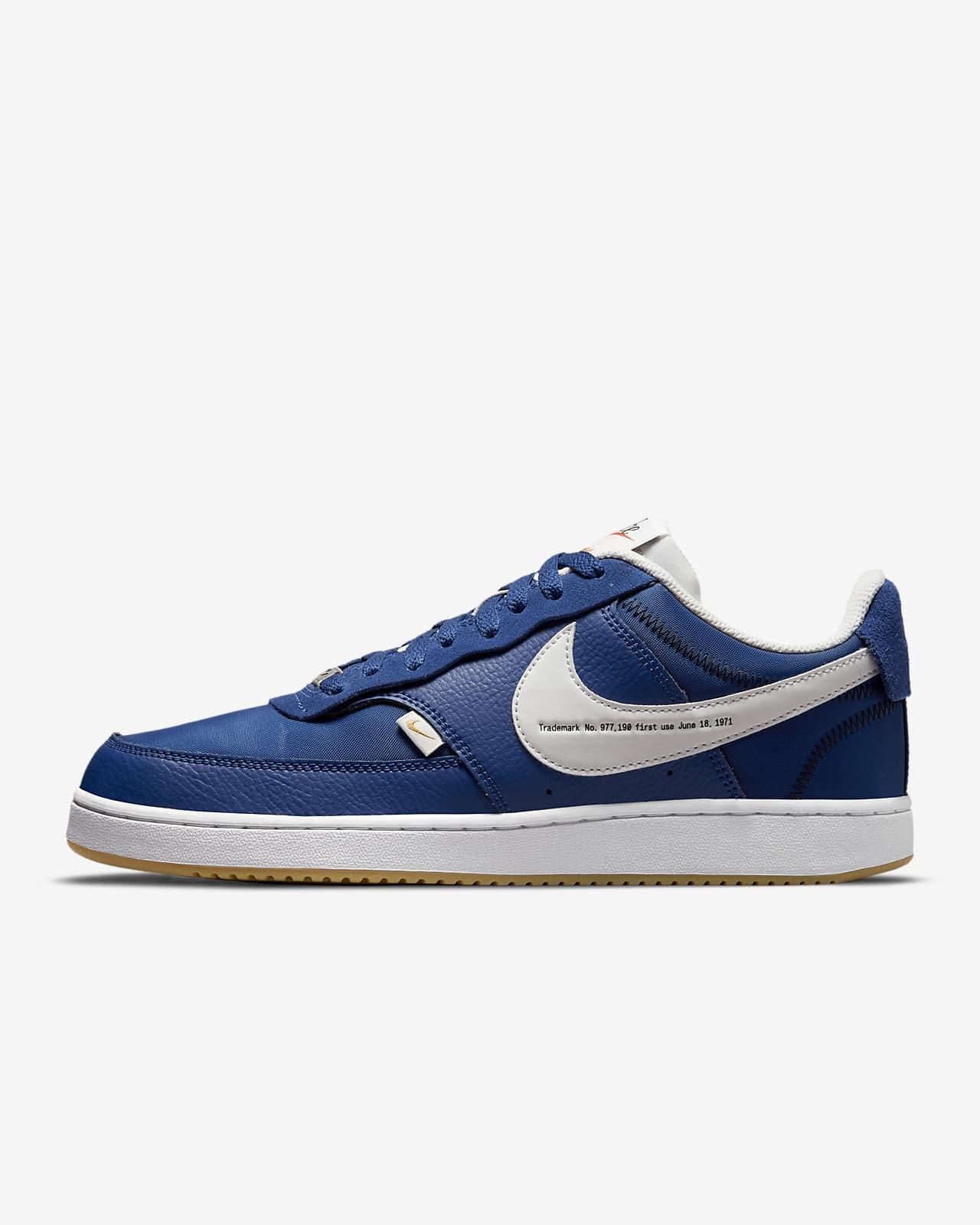 Nike Court Vision 低筒 Premium 男鞋