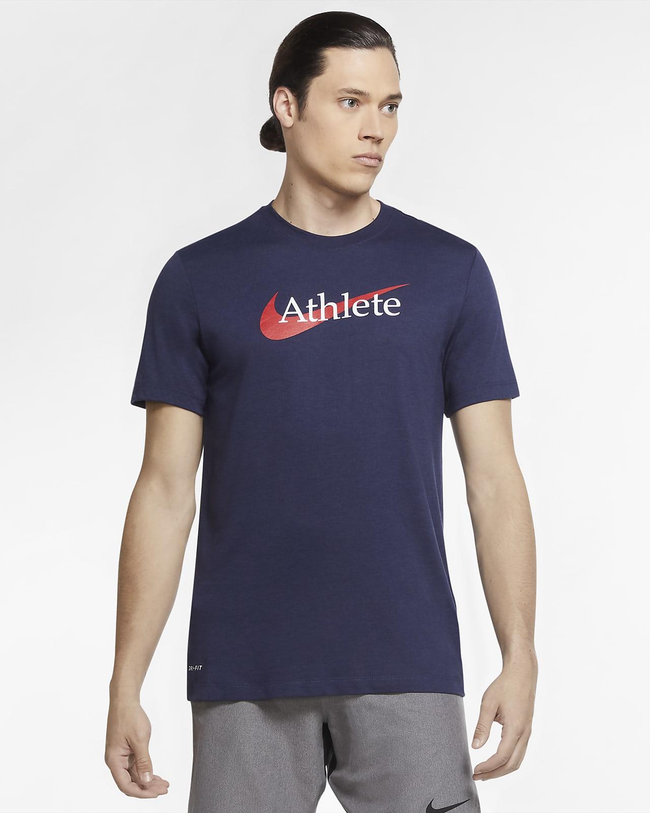 T-shirt de treino com Swoosh Nike Dri-FIT para homem
