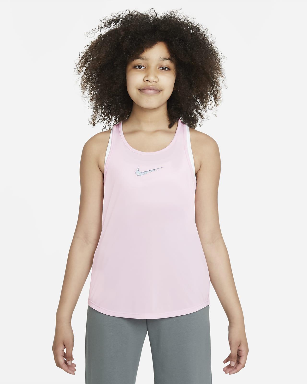 Nike Dri-FIT One Luxe Big Kids' (Girls') Training Tank