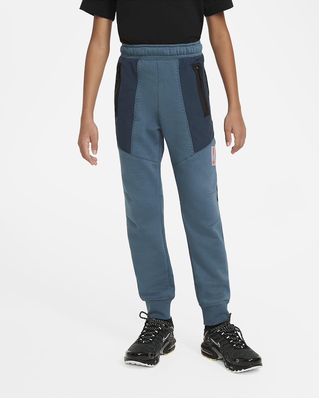 Флисовые брюки для мальчиков школьного возраста Nike Sportswear Air Max