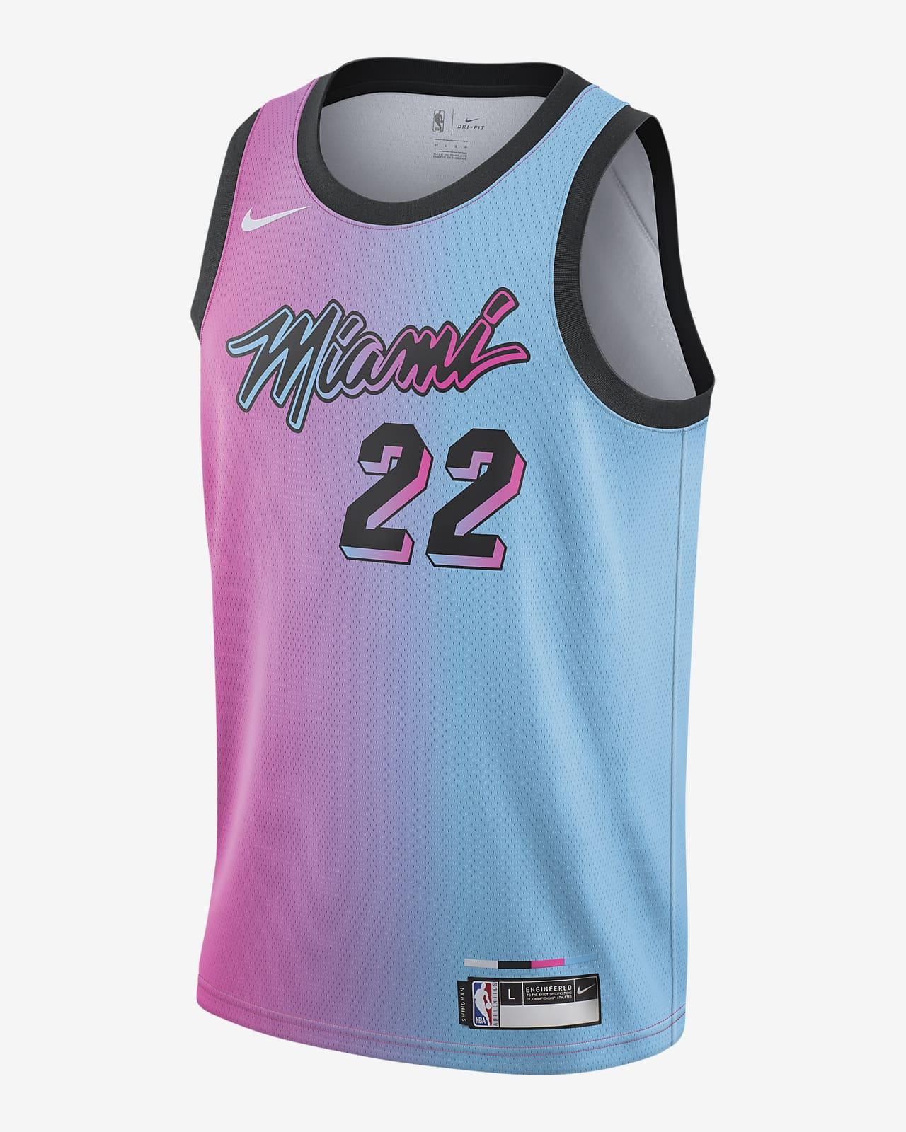 Jimmy Butler Heat City Edition Older Kids' Nike NBA Swingman Jersey