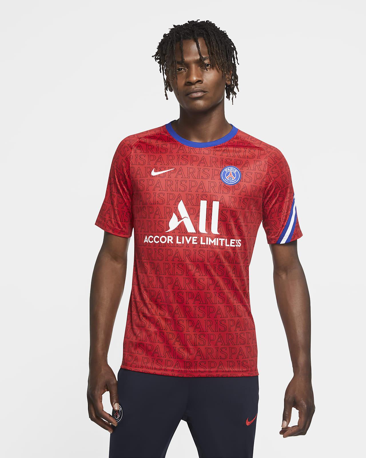 Męska koszulka piłkarska z krótkim rękawem Paris Saint-Germain