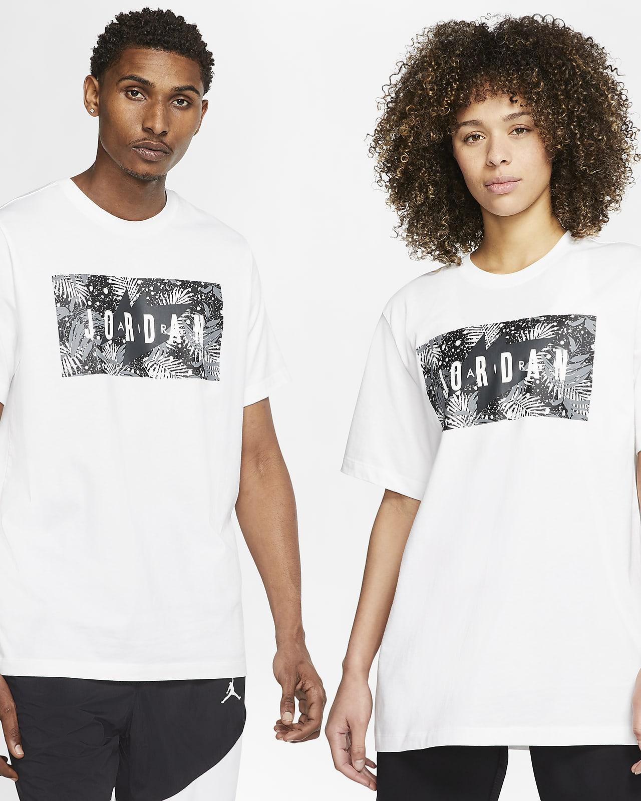 Jordan Poolside T-Shirt mit Blumendesign