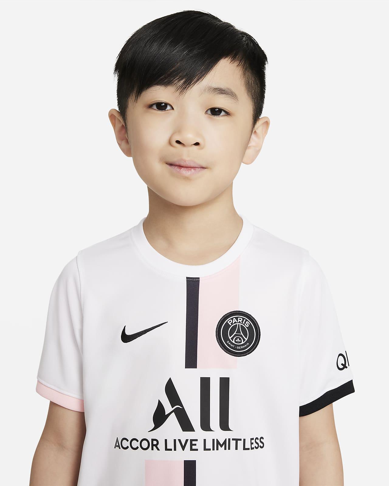 Divisa da calcio Paris Saint-Germain 2021/22 per bambini - Away